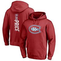 hokey hoodie montreal toptan satış-MONTREAL KANADI HOKEY hoodies Jonathan Drouin Max Pacioretty Andrew Shaw Shea Weber Carey Fiyat hoodie tişörtü
