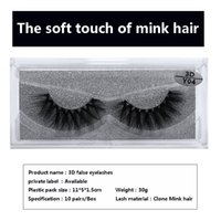 Wholesale hand models - Private label 3d mink lashes Newest 10 models false eye lashes makeup Thick Soft High clone mink eyelashes natural beauty Makeup Extension