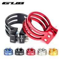 Wholesale Aluminum Alloy Bike Frames - GUB Bicycle Seat Post Clamp Aluminum Mountain Bike Seatpost Clamps Cycling Clamping Carbon Frame 31.8 34.9 37mm