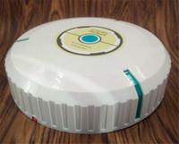 nettoyage de planchers en bois achat en gros de-Hot Robotic Aspirateur (Mode batterie) Rotation automatique à 360 ° Tapis Sol en bois Sol en pierre Carrelage en céramique Poils d'animaux Nettoyage efficace.