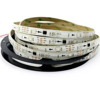 Wholesale led color changing strip - Waterproof Digital Chasing Dream Color LED Strip 12V 30leds m 2811 RGB led strip light 5050 SMD RGB IP65 Auto changing RGB color