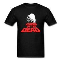 moda do amanhecer venda por atacado-Mangas de Moda de Nova T Shirt Da Camisa de Manga Curta Amanhecer Dos Mortos Casual Tripulação Pescoço Camisetas Para Homens