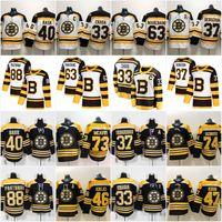 ingrosso boston bruins classici invernali-Boston Bruins 2019 Winter Classic 37 Patrice 46 David Krejci 63 Brad Marchand 88 David Pastrnak Torey Krug Charlie McAvoy Jersey