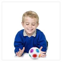 ingrosso regali arcobaleno per i bambini-Puzzle di calcio cubo arcobaleno Divertimento e interessante palla sferica velocità bambini giocattolo per bambini regali di alta qualità
