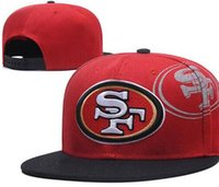 Wholesale women discount caps online - National Team San Francisco hat Baseball Embroidered Letter Flat Curved Brim Hats snapback Cap snapback Sports Chapeu for men women discount
