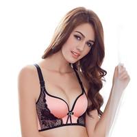 b42cd9096152c Women Push Up Bra Lace Bralette Adjusted Comfortable Wireless Bra Underwear  Women Sexy Lingerie Plus Size C D Cup
