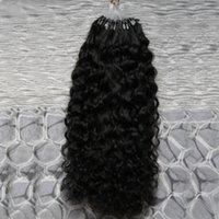insan saçı mikro döngüler uzantısı toptan satış-10