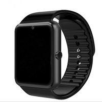 bluetooth push оптовых-Бестселлер Smart Watch GT08 часы с слот для Sim-карты нажмите Сообщение Bluetooth подключения Android телефон Smartwatch GT08 1 шт. / лот