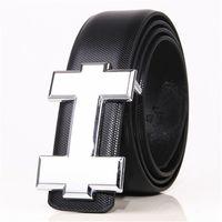Wholesale High Jeans Girls - Fashion Brand belt Genuine Leather Men Belt Designer Luxury High Quality H Smooth Buckle Mens Belts For Women Luxury belt Jeans Cow Strap