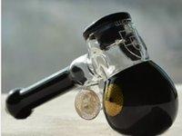 el cam yağı kabarcığı toptan satış-Cam Yağ Burner Boru Su bong Bubbler Siyah Cam El Borusu Klasik Beyaz Bubbler Kalın Kolu Cam Sigara Boru Ücretsiz Kargo