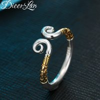 affe mode ring großhandel-Neuheiten S925 Sterling Silber Monkey King Crown Ringe für Frauen Einstellbare Größe Ring Mode Sterling-Silber-Schmuck