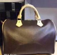 kissen designer großhandel-berühmte marke Designer mode frauen luxus taschen dame kissen packung PU leder handtaschen marke taschen handtasche schulter tote Tasche weibliche mit schloss