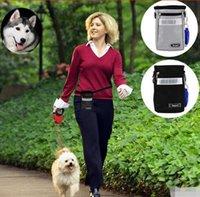 Wholesale Training Treat Pouches - Pet Fashion Series Dog Supplies Dog Treat Pouch Dog Training Bags Special Pockets Pet Snack Bags Professional Pet Train Bags CCA8600 30pcs