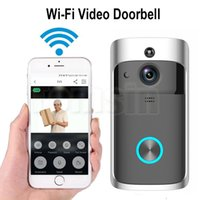Wholesale camera wifi wireless 1pcs - 1pcs Wireless Smart Video Doorbell 720P HD Wifi Security Camera Real-Time Two-Way Talk and Video APP Control with retail package