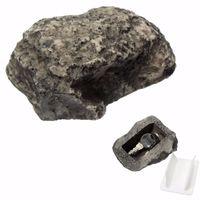 schlüsselhalter ornamente großhandel-Key Box Rock Verstecken In Stein Sicherheit Safe Storage Organizer Tür Fall Box Versteckt Garten Ornament Gefälschte Rock Halter