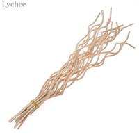 Wholesale rattan sticks resale online - Lychee Wavy Rattan Reed Fragrance Diffuser Replacement Refill Sticks Air Freshener Room Perfume Rattan Diffuser Sticks