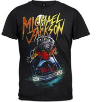 michael jackson moda venda por atacado-Camiseta Michael Jackson-Lobisomem É Isto Homens Mulheres Moda Tee Tamanho S-6x Hot New 2018 Moda Verão Camisetas