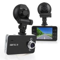 cámara del salpicadero del coche visión nocturna al por mayor-K6000 1080P Full HD LED Night Recorder Dashboard Vision Cámara Veicular dashcam Carcam video Registrator Car DVR