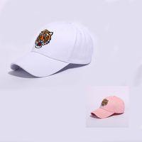 3162f393298 Hip Hop Dance Men Women Favor Baseball Cap Tiger Head Trend Designer  Casquette Cotton Breathable Fitted Hats Black White 11 5xy ZZ