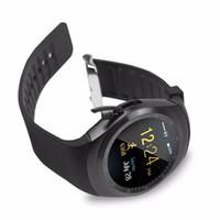 luxus-schrittzähler großhandel-Luxus Multi-Sprachen Smart Watch Männer HD Bildschirm Bluetooth Sport Schrittzähler Uhren Frauen Kalender Smart Armband Armband Geschenk