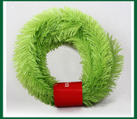 Wholesale artificial hair red online - 5 m Christmas Decoration Grass Cane Color Rattan Party Market Decor Artificial Grass Cane