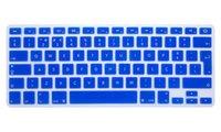 macbook retina klavye cilt toptan satış-Portekizce Dil Euro İNGILTERE Silikon Klavye Cilt Klavye Kapak Koruyucu Film Mac Kitap Pro Retina Için