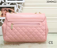 Wholesale cheap heart stones - Fashion Chain Bags Women PU Leather Brand Handbags Designer New Ladies Luxury Classic Shoulder Bag Female Totes 6282 cheap Sale