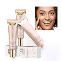 gesichtscremes machen großhandel-O.TWO.O Professional Make-up Basis Foundation Primer Make-up Creme Sonnenschutz Feuchtigkeitsspendendes Öl Control Face Primer