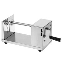 Wholesale manual cutting machines online - Manual Stainless Steel Potato Machine Twisted Potato Slicer Spiral Vegetable Cutter French Fry Cutting Tool