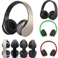 Wholesale pc mp4 player - Andoer LH-811 4 in 1 Bluetooth 3.0 + EDR Headphones wireless headset with MP3 Player FM radio Micphone for Smart Phones PC V126