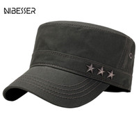 Wholesale cadet hats for sale - NIBESSER Brand Summer Spring Men s Cotton  Sun Hats Twill 7c28171d2e43