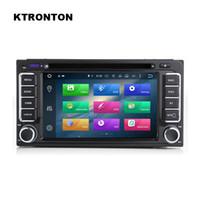 radio dvd para camry toyota al por mayor-4G RAM Octa Core Android 8.0 Reproductor de DVD del coche para Toyota Universal con Radio GPS Navegación Wifi DVR Mirror Link 32GB ROM