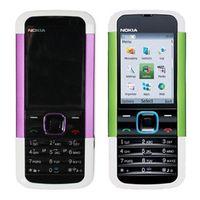 Wholesale network unlocked phone - Refurbished Original Nokia 5000 Unlocked GSM 2G Network Bar Mobile Phone 2.0 inch Screen 1.3MP Camera Cheap Phone Free DHL 1pcs