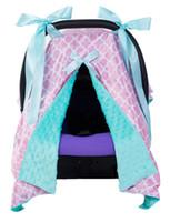 bebek araba strollers toptan satış-INS Bebek Araba Koltuğu Gölgelik Kapağı 100 * 70 cm Şık Carseat Kapak Bebek Arabası Uyku Buggy için Gölgelik