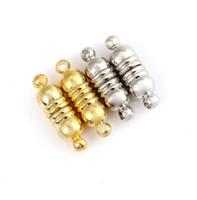 takı manyetik konektörü toptan satış-DIY Takı Aksesuarları Toptan Kolye Konektörü Şerit Metal Diş Metal Manyetik Takı Toka Yaratıcı Moda El Yapımı
