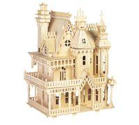 preços brinquedos para adultos venda por atacado-Casa de bonecas vitoriana toys fantasia villa 3d puzzle diy modelos em escala e construção para o adulto preço de fábrica por atacado ordem