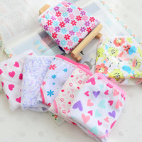 Wholesale girl panties boy shorts - 6pcs pack high quality Children girls underwears briefs soft 100% Cotton panties cute printed Baby short underpants mixed colors