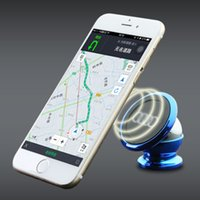 Wholesale car stents online – Car Mobile Phone Bracket Degrees Phone Holder Magnetic Magnet Mobile Phone Holder Lazy Bracket Slacker Stents