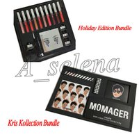 Wholesale mothers free - 2018 Newest The KRIS Bundle Momager makeup set Holiday Edition for mother day gift free shipping