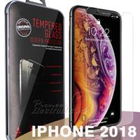 protetor de tela de qualidade venda por atacado-Para 2018 novo iphone xr xs max x 8 7 j7 2017 filme protetor de tela de vidro temperado para samsung s6 s7 premium qualidade pvc 10 pack