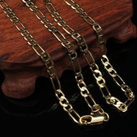 Wholesale fake gold chains - Sand gold necklace female simulation fake gold European currency 18k gold-plated Jiufu color jewelry Vietnamese pendant gold new beauty
