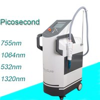 Wholesale tattoo removal machine picosecond - pico laser vertical q switch nd yag laser removal scars tattoo remove picosecond machine korea pico q-switch picosure beauty equipment