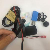ingrosso pulsante di sicurezza-Pulsanti HD WIFI Modulo Fotocamera 720P H.264 Codifica video 30PFS Mini Pulsanti CCTV Telecamera di sicurezza domestica Videocamera PC webcam