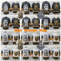Wholesale youth hockey jersey xl - 2018 Stanley Cup Finals Vegas Golden Knights Jersey 29 Marc-Andre Fleury James Neal Erik Haula Nate Schmidt Hockey Men Women Youth Inaugural