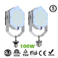 ingrosso base di luce esterna-DLC UL led kit di retrofit lampada per illuminazione da esterno base 80W 100W 120W 150W 5000K parete metallica halid pack Shoebox illuminazione stradale AC85-277V 5 anni