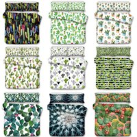 Wholesale blue ice plant - Cactus desert Art Luxury Bedding Sets Twin Full Queen King Size Pillow Case Quilt Cover No Filler Bed Set