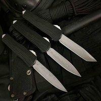 hoja doble de damasco al por mayor-07 damasco + VG10 cuchilla Rama mango doble acción caza Cuchillo de bolsillo Cuchillo de supervivencia Regalo de Navidad para hombres