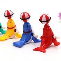 löst spielzeug großhandel-360 Grad Drehung Tier Wind Up Spielzeug Bunte Nette Delphin Clockwork Spielzeug Neu Kommen 1 5fd W