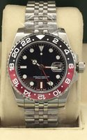 reloj de lujo b al por mayor-Relojes de lujo de estilo 5 II de reloj de bisel de cerámica 126710 B / P 40 mm reloj de pulsera automático para hombre de la marca de moda