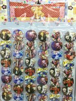 Sort séjour nuit 4.5 CM lot mis PIN RETOUR BADGES BOUTONS NOUVEAU POUR PARTY SAC SAC CADEAU ANIME CARTOON GAME MOVIE COLLECTION
